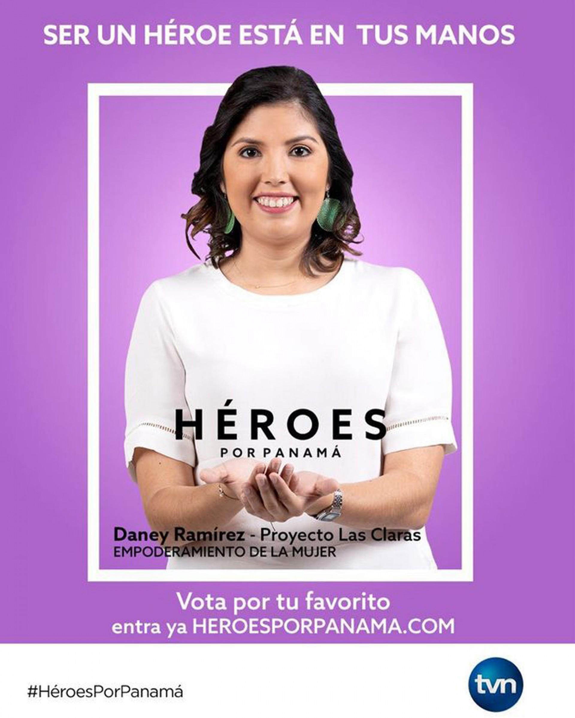 Congratulations Daney Ramirez! Panama Heroine