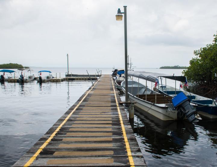 Dock Research Vessels