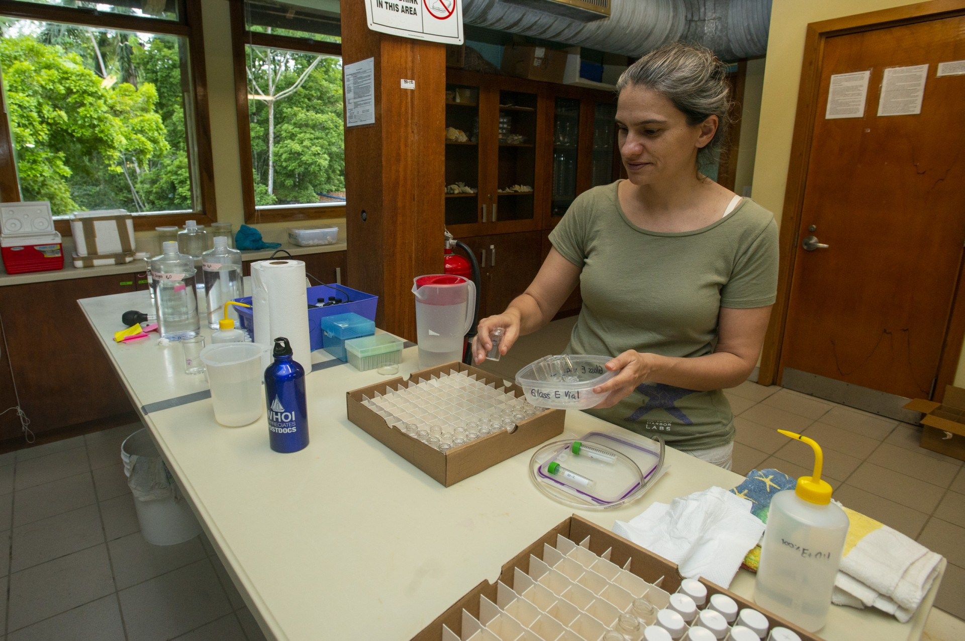 Rachel Collin, staff scientist at the Smithsonian Tropical Research Institute