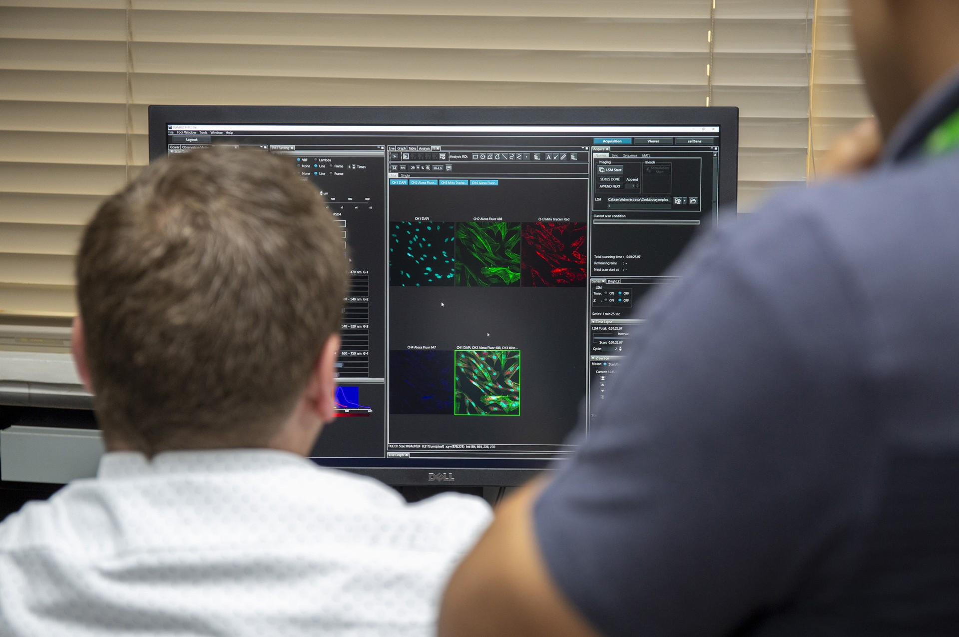 STRI has a new Laser scanning confocal microscope