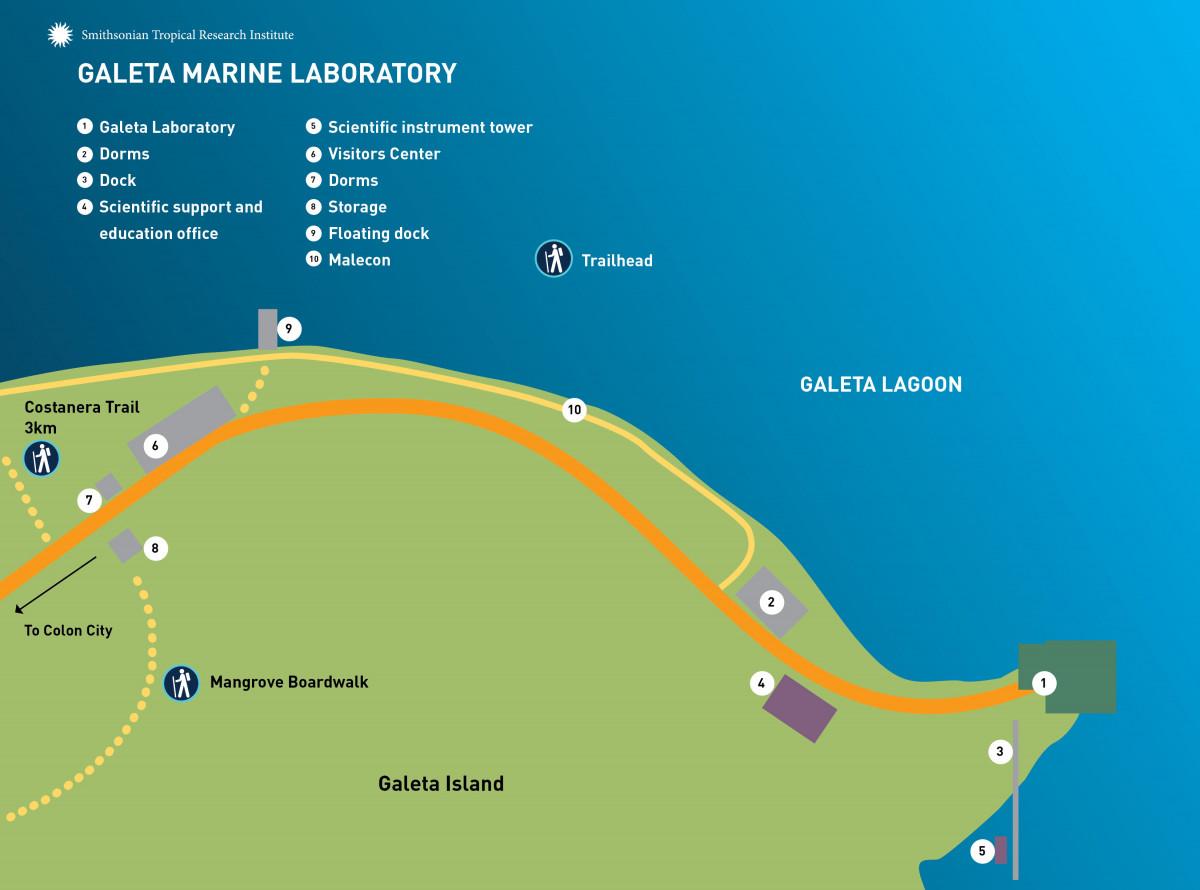 Galeta Map