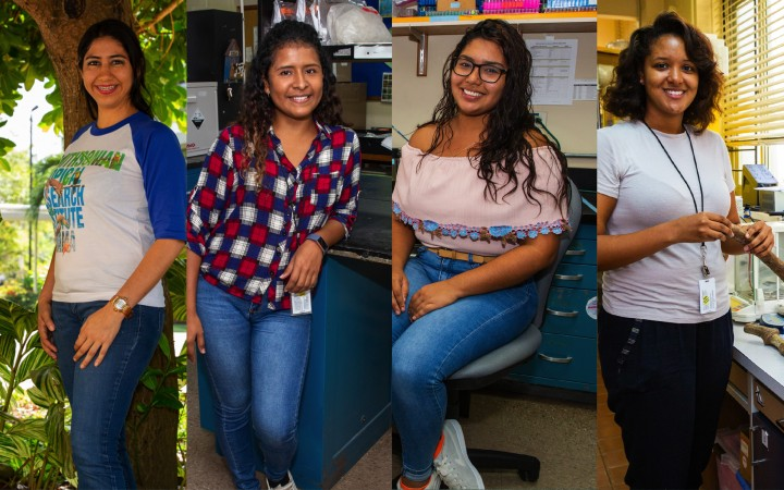 Panamanian students, scientists in the making