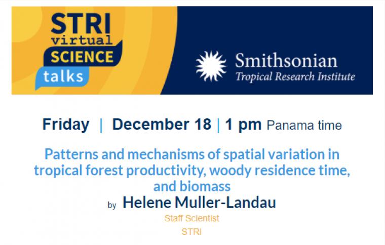 STRI Science Talks Panama